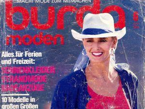 Burda Moden № 6/1986. Фото моделей. Ярмарка Мастеров - ручная работа, handmade.