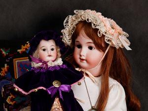 Marotte-кукла для куклы. Ярмарка Мастеров - ручная работа, handmade.