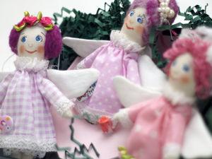 Ангелы коллекция Розовый зефир. Ярмарка Мастеров - ручная работа, handmade.