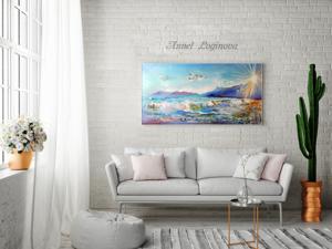 О море и новая картина. Ярмарка Мастеров - ручная работа, handmade.