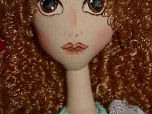 Создаем текстильную куколку Софи. Часть 3: шьем одежду. Ярмарка Мастеров - ручная работа, handmade.