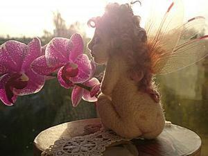 Валяные чудеса: создание шерстяной феи. Ярмарка Мастеров - ручная работа, handmade.