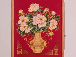 Красный букет. Ярмарка Мастеров - ручная работа, handmade.