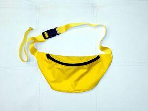 Шьем сумку-бананку. Ярмарка Мастеров - ручная работа, handmade.
