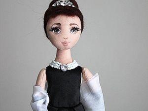 Создаем лицо текстильной кукле. Ярмарка Мастеров - ручная работа, handmade.