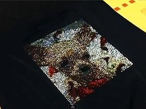 Видео урок по созданию фотографии из кристаллов Сваровски на футболке. Ярмарка Мастеров - ручная работа, handmade.