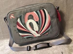 Оригинальная сумка с прекрасными лебедями. Ярмарка Мастеров - ручная работа, handmade.