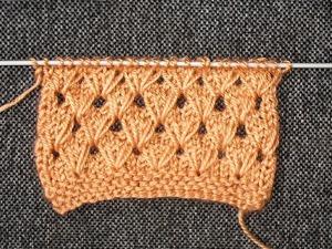 Вяжем интересный узор с вытянутыми петлями. Ярмарка Мастеров - ручная работа, handmade.