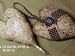 Изготовление кофейного сердечка или готовимся к Новому году.. Ярмарка Мастеров - ручная работа, handmade.