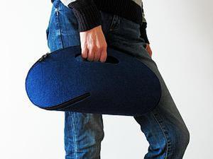 Как просто сделать оригинальную сумку-клатч. Ярмарка Мастеров - ручная работа, handmade.