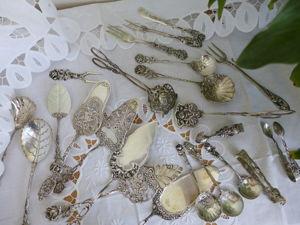 Скидки на Столовое Серебро. Серебро на столе. Ярмарка Мастеров - ручная работа, handmade.