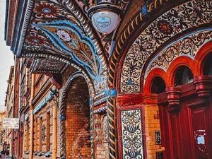 Мозаика, украсившая фасады домов Петербурга. Ярмарка Мастеров - ручная работа, handmade.