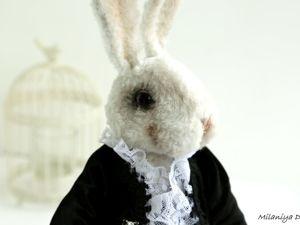 Белый кролик — Аристократ. Ярмарка Мастеров - ручная работа, handmade.