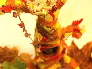 Мастерим из папье-маше декоративное дерево. Часть 2. Ярмарка Мастеров - ручная работа, handmade.