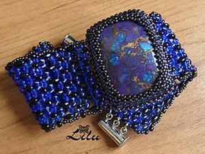 Мастер-класс: браслет с ремешками из супердуо. Ярмарка Мастеров - ручная работа, handmade.