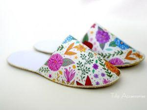 Elegant Slippers in 30 Minutes. Livemaster - handmade