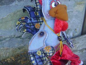 Мастер-класс по созданию новогоднего сувенира «Петух — символ 2017 года». Ярмарка Мастеров - ручная работа, handmade.