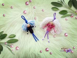 Плетем куколок из веревки. Ярмарка Мастеров - ручная работа, handmade.
