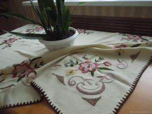 Скидка 30% на винтажные скатерти и салфетки!. Ярмарка Мастеров - ручная работа, handmade.