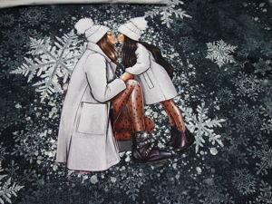Футер с лайкрой купон Снежность. Ярмарка Мастеров - ручная работа, handmade.