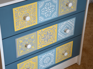 How to Decorate Simple Dresser. Livemaster - handmade