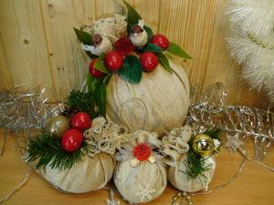 Создаем новогодние шарики из подручных материалов. Ярмарка Мастеров - ручная работа, handmade.