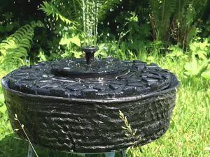 Делаем фонтан для сада. Идеи для коробки из-под торта! Часть 1. Ярмарка Мастеров - ручная работа, handmade.