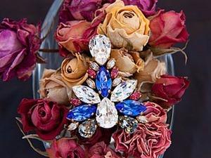 Сочетания цветов кристаллов Swarovski в схемах. Ярмарка Мастеров - ручная работа, handmade.