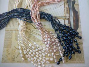 Скоро выпускной!!! -30% на жемчужные ожерелья!. Ярмарка Мастеров - ручная работа, handmade.