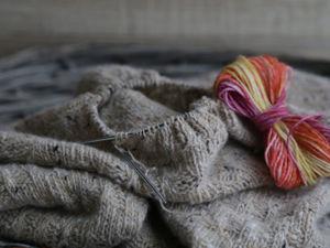 + размер 48-50 для свитера с узором FORZA. Ярмарка Мастеров - ручная работа, handmade.