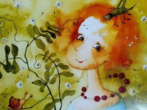 Встречаем год Мышки с рисунками Виктории Кирдий. Ярмарка Мастеров - ручная работа, handmade.