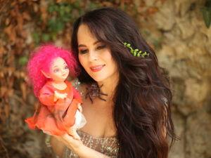 Феёна-моя первая куколка из силикона. Ярмарка Мастеров - ручная работа, handmade.