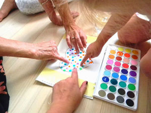 A Finger Painting Project for a Whole Family. Livemaster - handmade