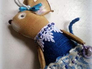Елочная мышка уже в магазине!). Ярмарка Мастеров - ручная работа, handmade.