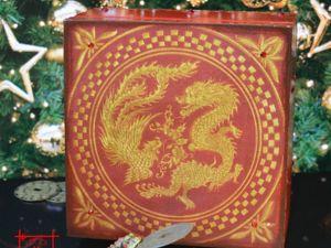Фен шуй набор для привлечения удачи  «Дракон и Феникс». Ярмарка Мастеров - ручная работа, handmade.