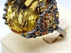Новинка! Видео кольца  «Солнечный король». Ярмарка Мастеров - ручная работа, handmade.