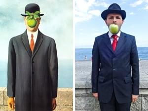 Рубрика ''Найди 5 отличий'': новая жизнь 21 шедевра живописи в рамках проекта ''Сфоткай типа Рембрандт''. Ярмарка Мастеров - ручная работа, handmade.