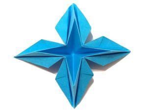 Как сделать объемную звезду из бумаги. Ярмарка Мастеров - ручная работа, handmade.