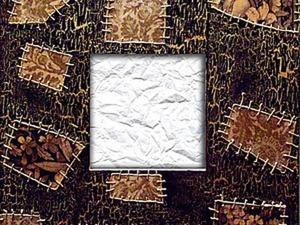 Декорируем рамку для зеркала «Гламурные Заплатки». Ярмарка Мастеров - ручная работа, handmade.
