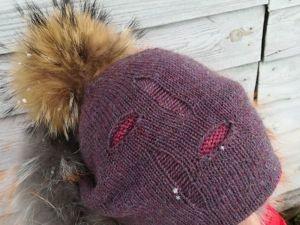 Вяжем модную шапочку: видео мастер-класс. Ярмарка Мастеров - ручная работа, handmade.