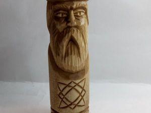 Изготавливаем чур Сварога из дерева. Ярмарка Мастеров - ручная работа, handmade.