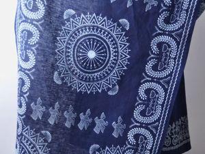 Древнейший краситель для ткани — индиго. Ярмарка Мастеров - ручная работа, handmade.