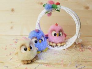Видео мастер-класс: делаем разноцветных пасхальных цыплят. Ярмарка Мастеров - ручная работа, handmade.
