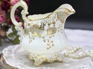 Дополнительные фотографии антикварного молочника. Ярмарка Мастеров - ручная работа, handmade.