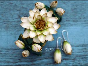 Создаем браслет с цветком лотоса: видео мастер-класс. Ярмарка Мастеров - ручная работа, handmade.
