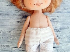 Шьем панталоны с кружевом для куклы. Ярмарка Мастеров - ручная работа, handmade.