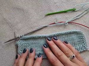 Полый шнур i-cord: обработка нижнего края изделия и горловины с завязками. Ярмарка Мастеров - ручная работа, handmade.