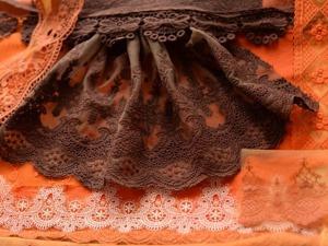 Красим кружево и ткани. Часть 2. Ярмарка Мастеров - ручная работа, handmade.