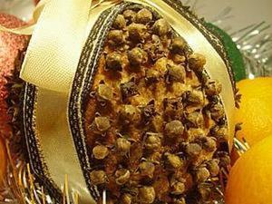 Рождественский помандер. Ярмарка Мастеров - ручная работа, handmade.
