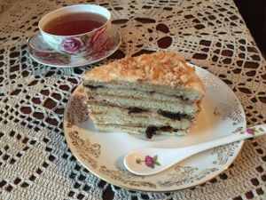 Корж тире пирог медовый. Ярмарка Мастеров - ручная работа, handmade.
